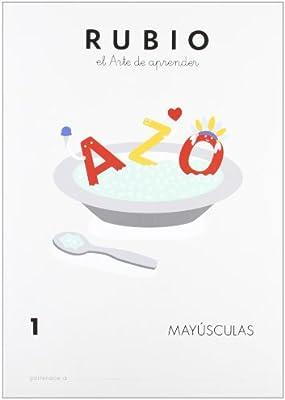 Rubio MAY - Cuaderno mayúsculas: 1 (Mayúsculas RUBIO): Amazon.es ...