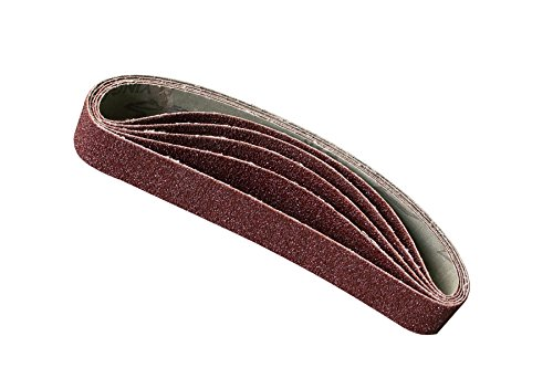5x Bandschleifer Schleifbänder Schleifband Schleifpapier 10x330mm Körnung 100