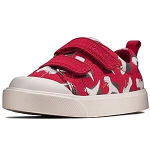 Clarks Unisex Kids City Bright T Low-Top Sneakers