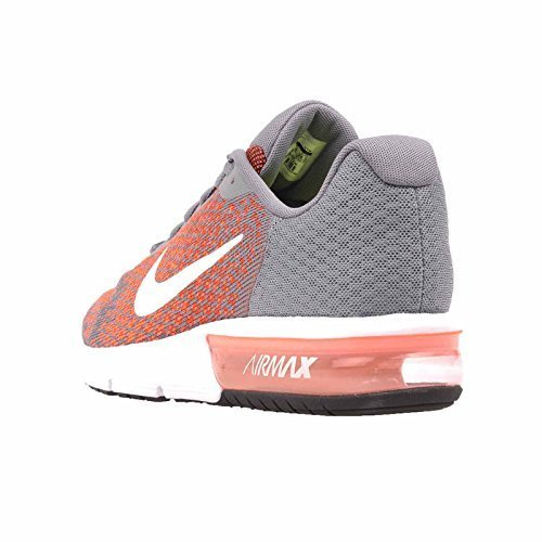 Nike Men's Air Max Sequent 2, Cool Grey/White-Max Orange, 6 M US by Nike (Image #2)