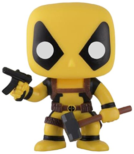 Funko Pop! Marvel Deadpool amarillo