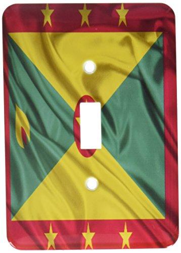 3dRose lsp_31549_1 Grenada Flag Single Toggle Switch