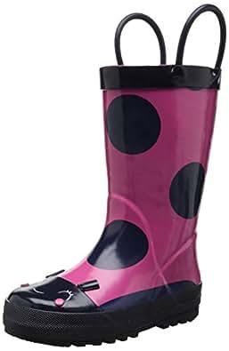 Amazon.com | carter's Thelady Rain Boot (Toddler/Little