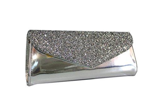 Borsetta donna Annaluna l.elegante 01sg argento made in Italy