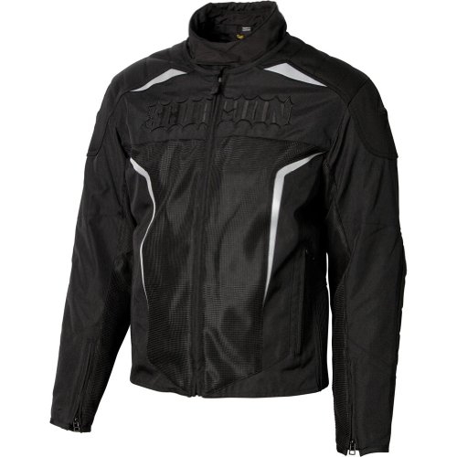 Scorpion Hat Trick II Men's Motorcycle Vented Jacket - Black Medium