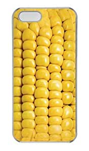 Corn on the Cob PC Case Cover for iPhone 5 and iPhone 5s Transparent