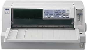 Epson LQ-680 Pro - Impresora matricial de punto (A4 (210 x 297 mm), 465 carácteres por segundo, 372 carácteres por segundo, 6 copias, 64 KB, Ethernet) No