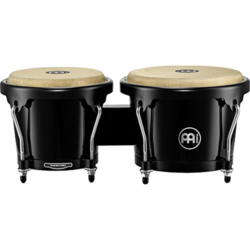 Meinl Fiberglass - Meinl Percussion HFB100BK Headliner Series Fiberglass Bongos, Black