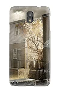 For Galaxy Note 3 Protector Case Heavy Rain House Phone Cover
