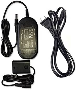 Globalsaving AC Adapter for Sony Alpha Digital Camera NEX-5R/B NEX-5T/B DC Coupler Power Supply ac Adapter