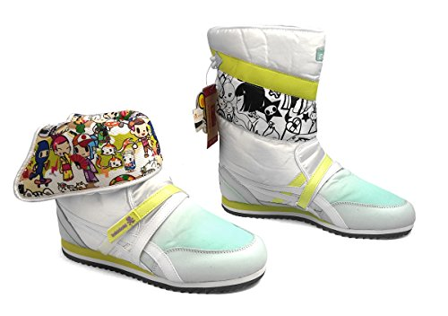 Sneaker Snowtopia lime Bianco verde Lime Asics Tiger Onitsuka White Tokidoki White Stivali Donna t41Xq