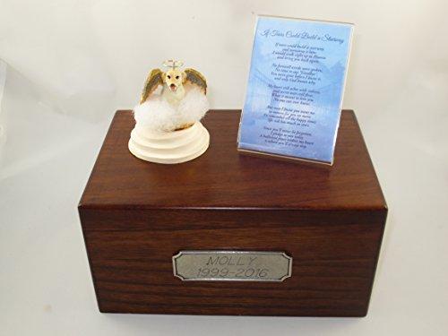 yellow lab urn - 2