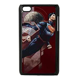 iPod Touch 4 Case Black Superman Up Up and Away VIU993642