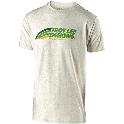 (Troy Lee Designs Men's Velo T-Shirt (Large, Oatmeal))