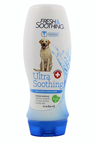 [Naturel Promise Fresh and Soothing Ultra Soothing Medicated Conditioner For All Breeds of Dogs, 22 oz] (Acting Moisture)