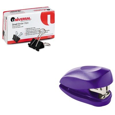 KITSWI79173UNV10200 - Value Kit - Swingline Tot Mini Stapler (SWI79173) and Universal Small Binder Clips (UNV10200)