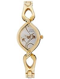 Titan Women's 2455YM03 Raga Jewelry Inspired Gold-Tone Watch