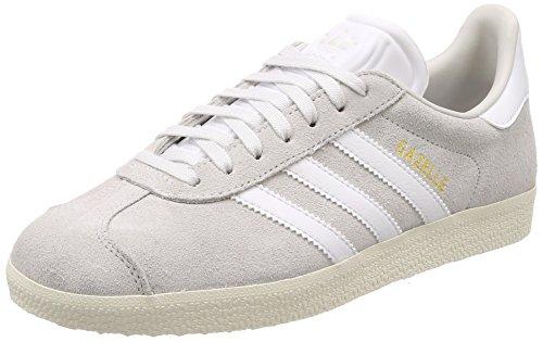Adidas Originals Kvinna Gasell Womens Mocka Sneakers I Storlek 7 Oss Off-white