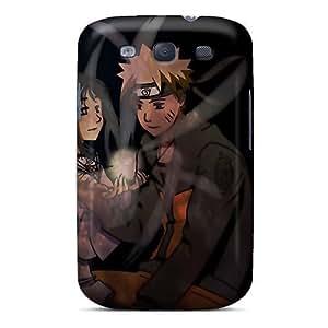 Pretty Azb1562xKQK Galaxy S3 Case Cover/ Naruto Shippuden Hyuuga Hinata Naruto Uzumaki Rasengan Series High Quality Case