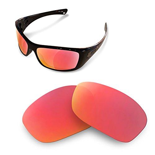 Sunglasses de Lentes Hijinx Marrones Oakley Recambio Polarizadas red Restorer ruby para rBwgt5Cqrc
