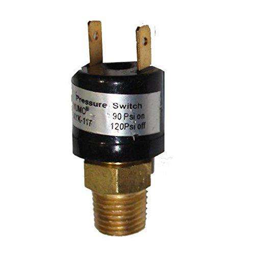 Air Compressor Tank Pressure Switch psi on - 120 psi off Air Ride (001 Air Pressure Switch)
