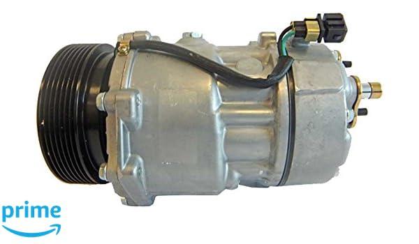 BEHR HELLA SERVICE 8FK 351 127-851 Compresor, aire acondicionado: Amazon.es: Coche y moto