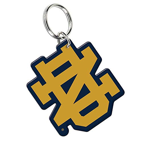 (WinCraft NCAA 77763011 Notre Dame Premium Acrylic Key Ring)