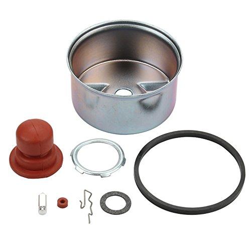 (Panari Carburetor Float Bowl & Needle Seat Kit Primer Bulb for Tecumseh LEV100 LEV115 LEV120 LV195EA OVRM120 Lawn Mower 640262 640262A 640026 640026A 640124 640069 640076A 640076 640272A Carb)