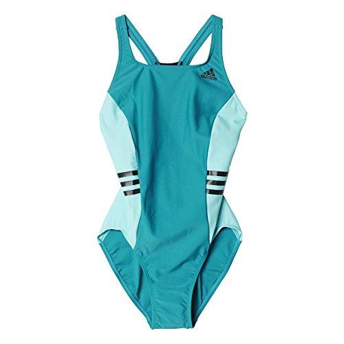 adidas I Ins 1Pc - Bañador para mujer Azul (Eqtver/Menint/Negro)