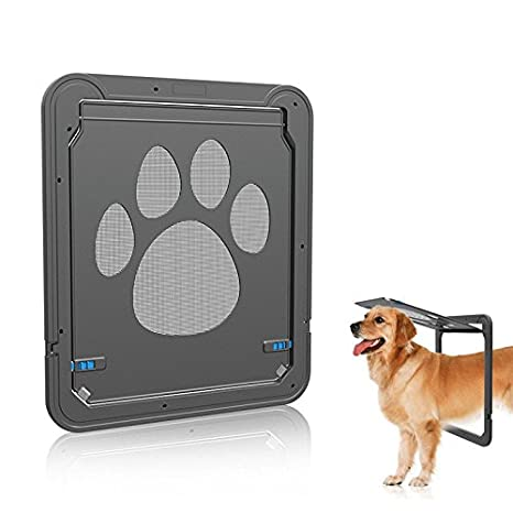Petetpet Dog Door Cat Doors Pet Screen Door With Magnetic And Automatic  Lock,Pet,