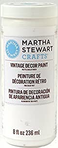 Martha Stewart Crafts Vintage Decor Paint in Assorted Colors (8-Ounce), 33519 Wedding Cake