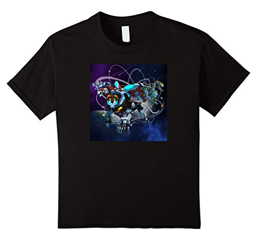 Price comparison product image Kids Voltron Legendary Defender All 5 Lions in Action T-Shirt