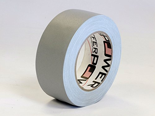 REAL Professional Premium Grade Gaffer Tape by Gaffer Power, Made in the USA, GREY 2 Inch X 30 Yards, Heavy Duty Gaffer's Tape, Leaves No residue, Better Than Duct Tape
