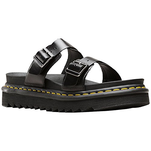 Dr.Martens Womens Myles Leather Sandals Black