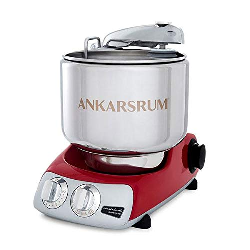 Ankarsrum Assistent Original AKM 6230 Electric Stand Mixer, 7.4 Quart (Red) by ANKARSRUM