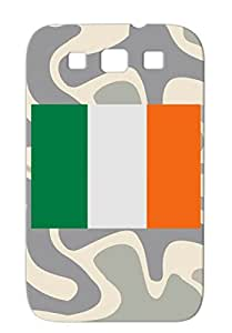 Silver Cities Countries Flags Ireland Irish Flag Flags Irish Flag For Sumsang Galaxy S3 Protective Case