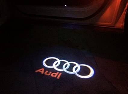 pixelprice 2/x CREE LED proyector luces de coche puerta sombra Charco cortes/ía t/óner Logo