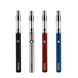 CBD Oil Vape Pen Top Refillable 450mAh Portable Vaporizer Ceramic Fast Heating Core 0.5ml CBD Oil THC Cartridge Vape Carts Replaceable Cap[No Nicotine] (Red)