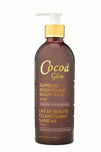 Cocoa Glow Supreme Brighening Beauty Milk with Cocoa Butter & Tamarind Seed Extract 500ml