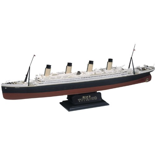 Revell 85-0445 1/570 RMS Titanic Plastic Model Kit, 18.6 x 1.9 x - Stock 1 Rms