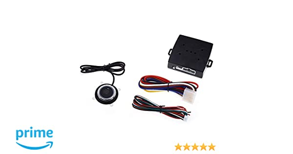 takestop Sistema para Coche Encendido Motor Start Stop pulsador Arranque con centralita 12 V