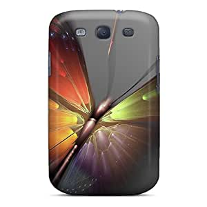 Samsung Galaxy S3 Fgd20011WFBg Allow Personal Design HD Butterfly Image Excellent Hard Phone Covers -LauraAdamicska