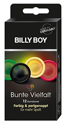 Billy Boy Bunte Vielfalt 12er - farbige und perlgenoppte Kondome