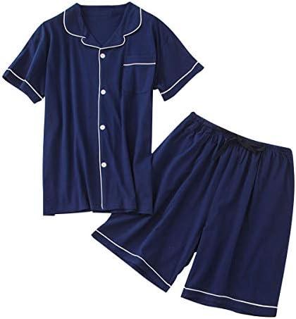 パジャマ メンズ 上下セット 半袖 寝巻き 春 夏