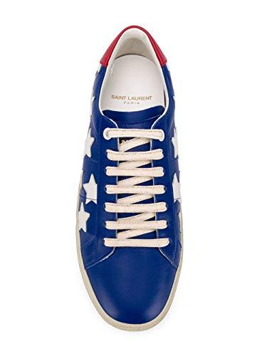 Sneakers Donna Laurent Saint 5494750m5h04393 Pelle Blu nF5xxwq