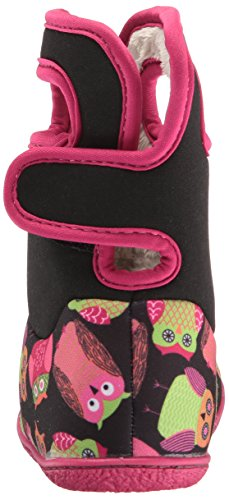 Winter Snow Owls Classic Baby Boot Black Penguins Bogs Multi 1qOHtw