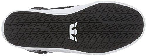 Supra SKYTOP II Unisex-Erwachsene Hohe Sneakers Schwarz (BLACK  - WHITE   BLK)