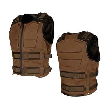 Speed & Strength 1114-0501-0152 True Grit Armored Vest (Brown, Small)
