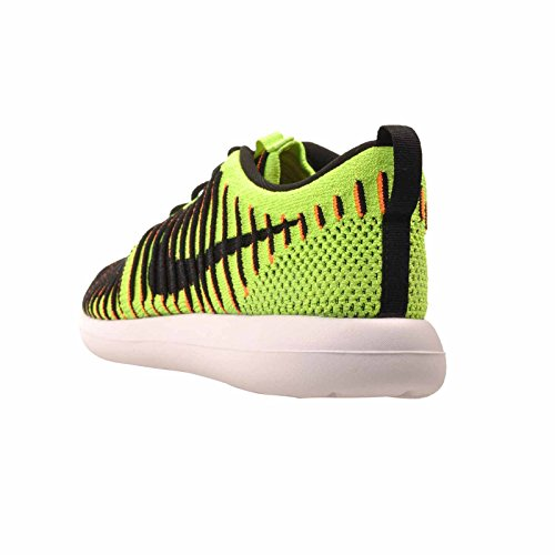 Men NIKE White s Gs Black Total Roshe Orange Running Electric Shoes Green Flyknit Two rCrpdqw