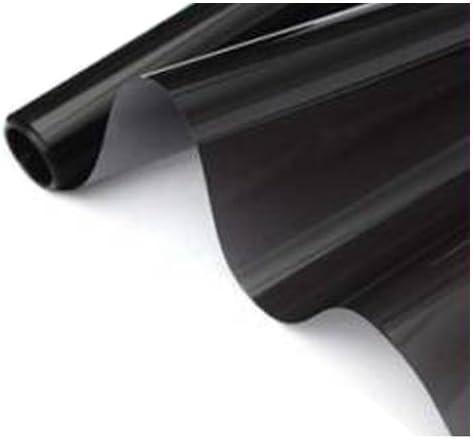 R 50cm x 6m Film de Fenetre teinte Noir 15/% Rouleau VLT 2 PLY Auto Verre voiture Film de Fenetre teinte SODIAL